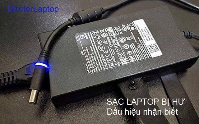 Những dấu hiệu nhận biết Adapter sạc laptop bị hư và cách khắc phục