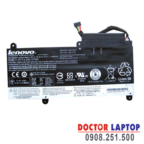 Pin Laptop Lenovo Thinkpad E460C (ZIN)