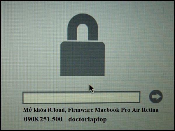 Mở khóa iCloud Macbok - Phá Password Macbook