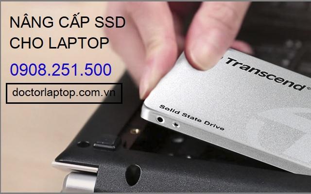 Nâng cấp ổ cứng SSD cho laptop