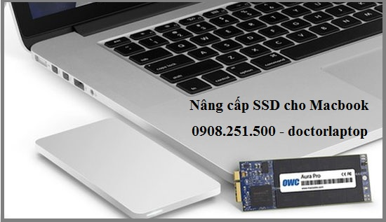 Nâng cấp ổ cứng SSD cho Macbook