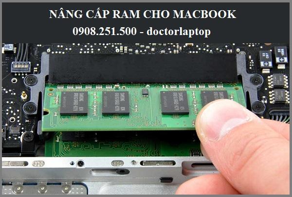Nâng cấp RAM Macbook Pro
