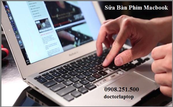 Sửa bàn phím Macbook bị liệt