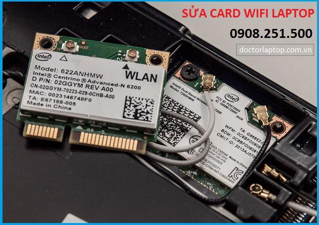 Sửa card wifi laptop