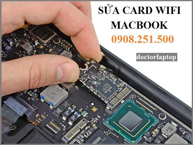 Sửa card Wifi Macbook