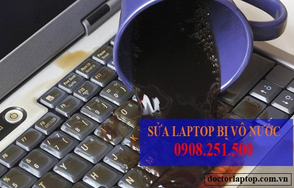 Sửa laptop bị vô nước tphcm