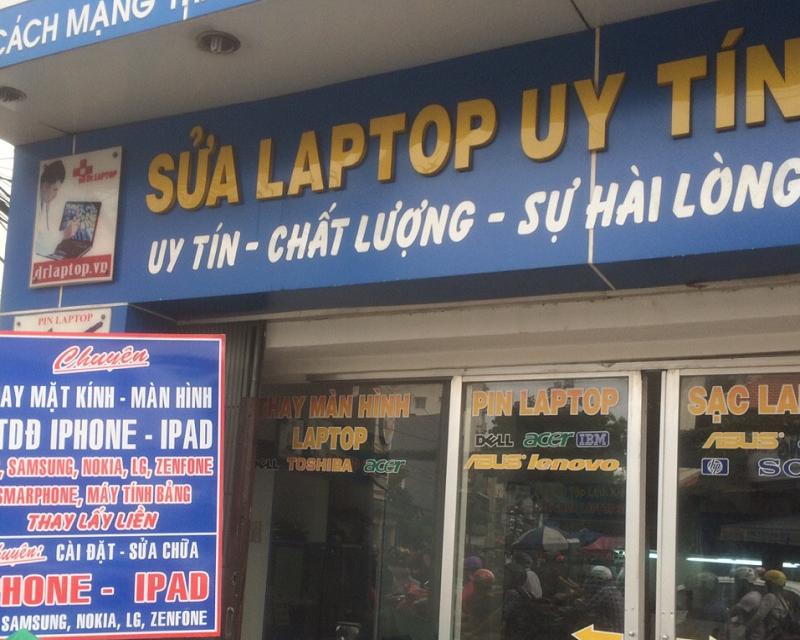 Sửa laptop ở đâu uy tín HCM