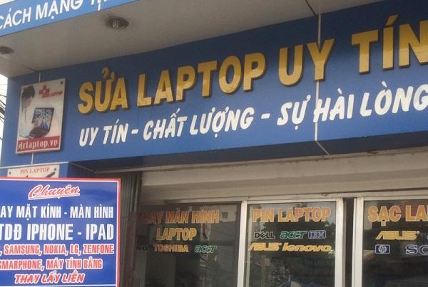 Sửa laptop uy tín TPHCM