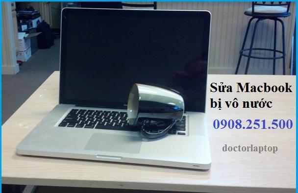Sửa Macbook bị vô nước