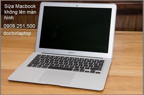 Sửa Macbook không lên màn hình