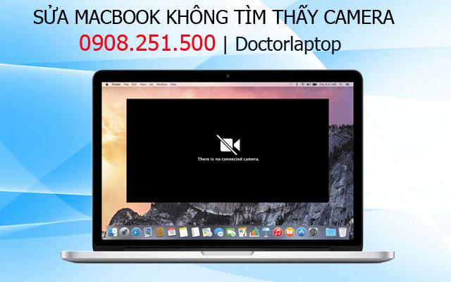 Sửa Macbook lỗi Camera do cáp bị đứt gãy