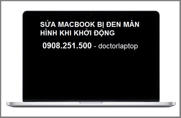 Sửa Macbook bị màn hình đen khi khởi động