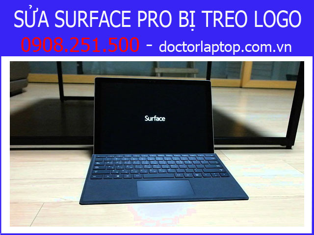 Sửa Surface Pro bị treo logo