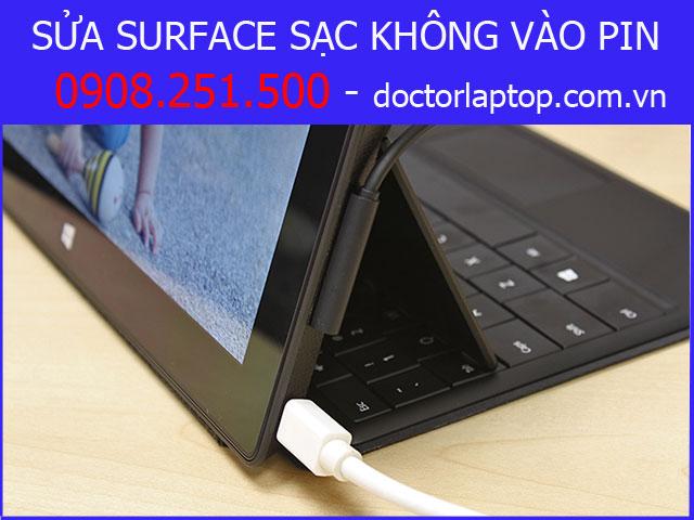 Sửa Surface sạc không vào pin