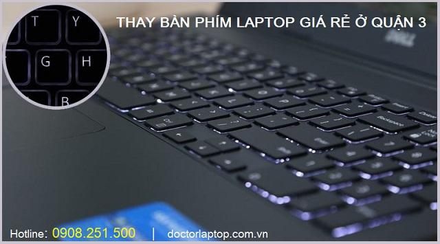 Thay bàn phím laptop ở quận 3