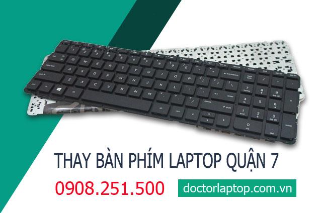 Thay bàn phím laptop Quận 7 HCM