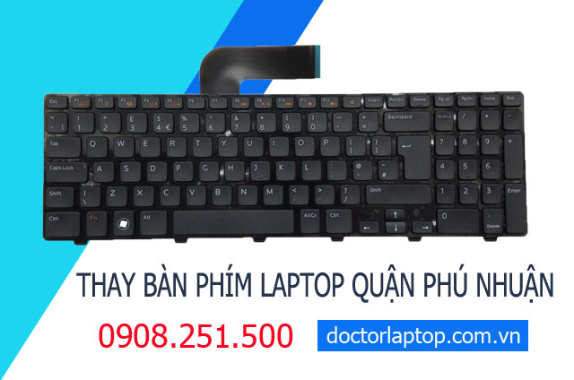 Thay bàn phím laptop Quận Phú Nhuận