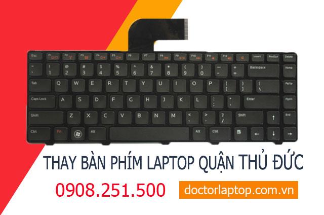 Thay bàn phím laptop Quận Thủ Đức