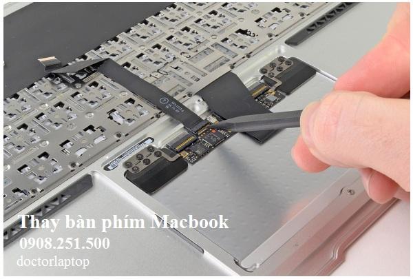 Thay bàn phím Macbook chính hãng