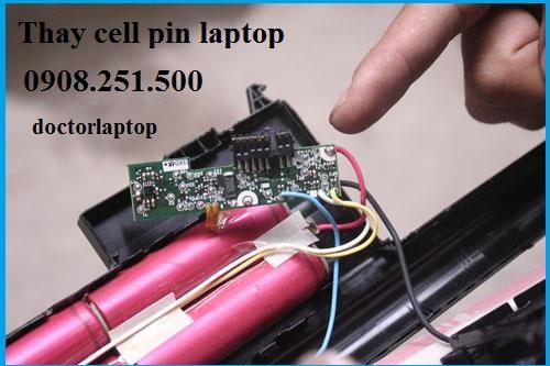 Thay cell pin laptop Asus ở đâu uy tín HCM