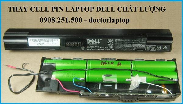 Thay cell pin laptop Dell ở đâu tốt tại tphcm