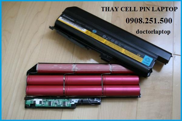 Thay cell pin laptop Lenovo giá rẻ tại tphcm