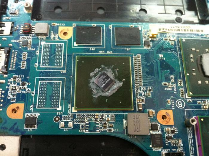 Thay chip vga laptop Sony