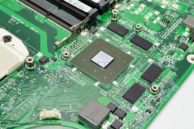 Thay chip vga laptop Toshiba