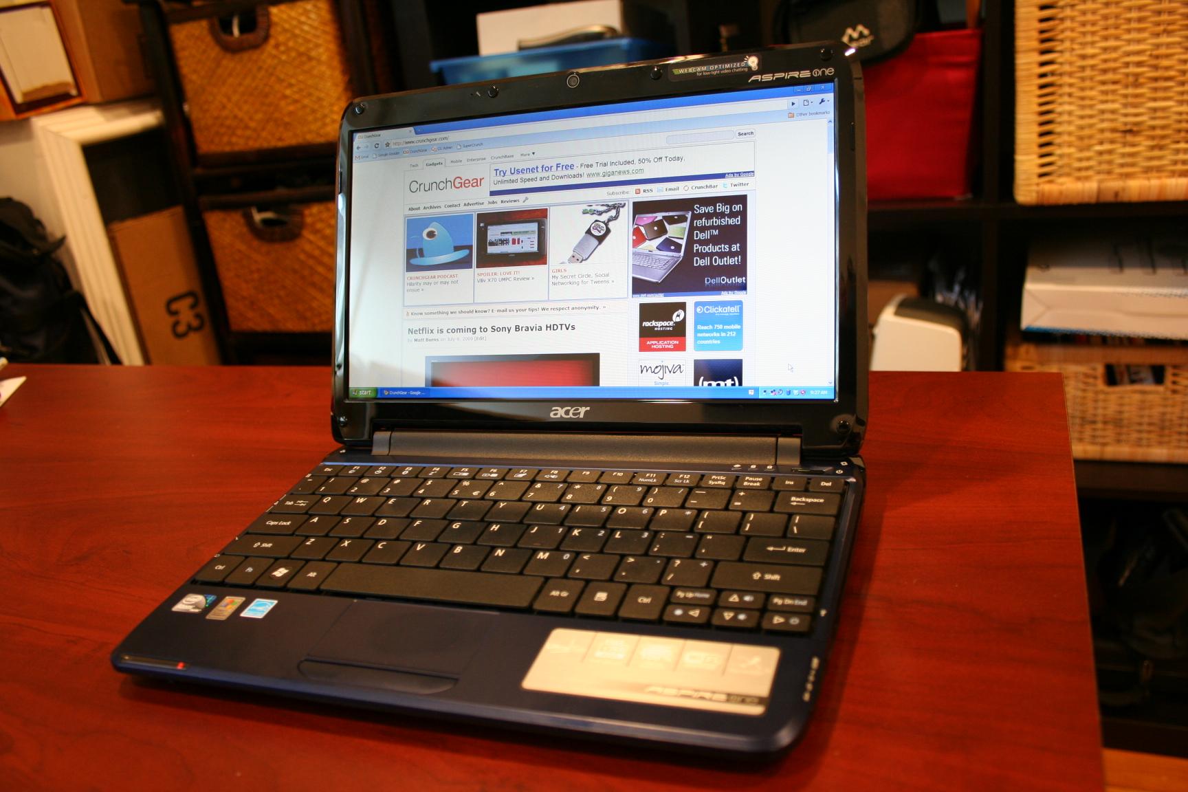 Thay màn hình Acer One 751H