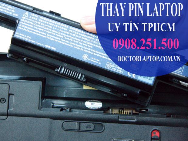 Thay pin laptop