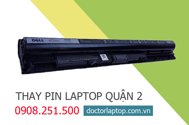 Thay pin laptop Quận 2