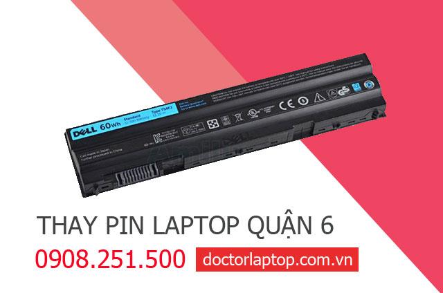 Thay pin laptop Quận 6