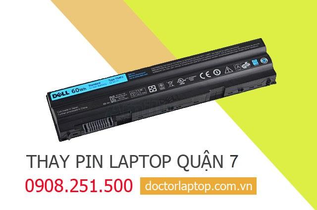 Thay pin laptop Quận 7