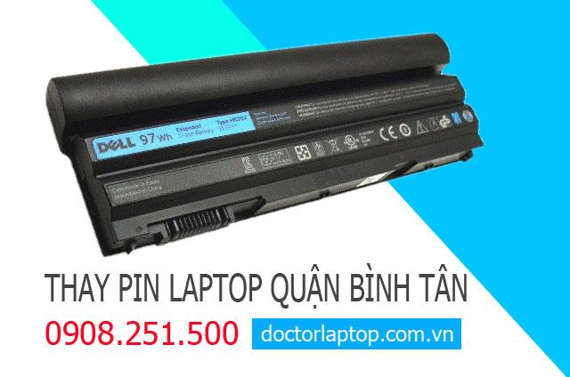 Thay pin laptop Quận Bình Tân