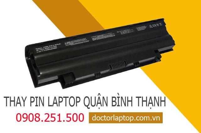 Thay pin laptop Quận Bình Thạnh