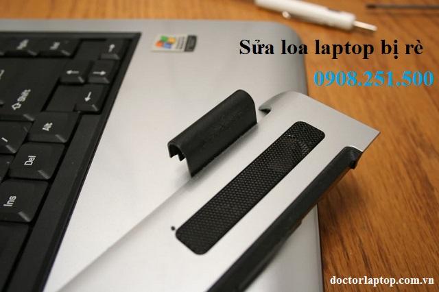 Sửa loa laptop bị rè tphcm
