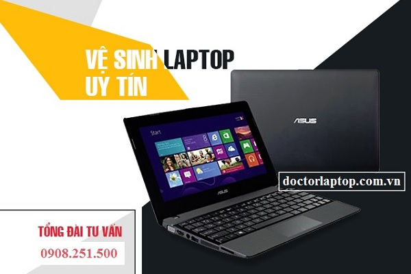 Vệ sinh Laptop CMT8