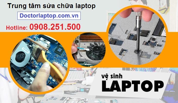 Vệ sinh laptop ở đâu uy tín tphcm?